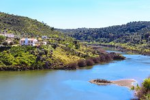 View of Guadiana river, Portugal