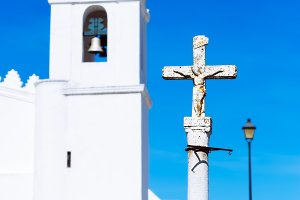 Detail of cross, Mertola, Portugal