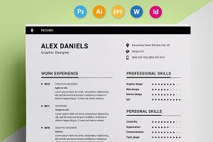 """Resume / CV - """"Daniel"""""""