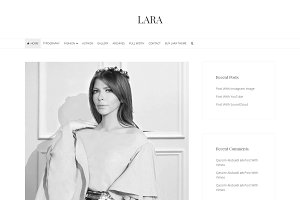 Lara - WordPress Blog Theme