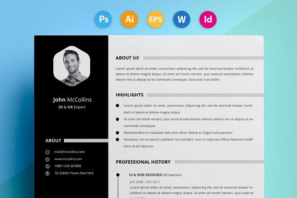 "Resume / CV - ""John"""