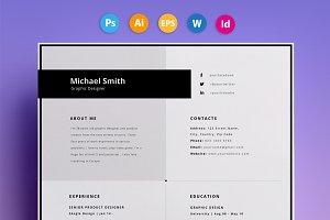 "Resume / CV - ""Smith"""