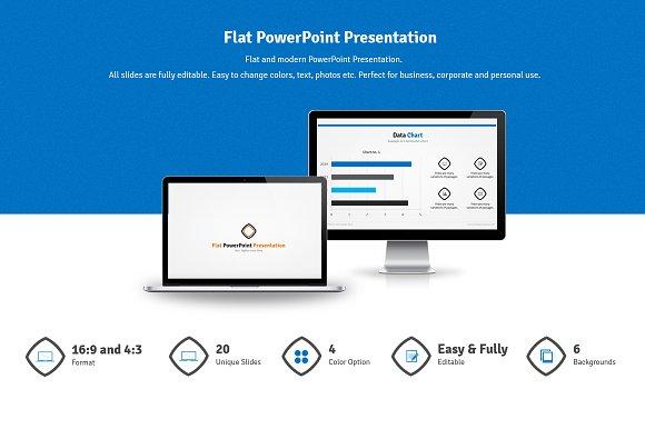 Flat powerpoint presentation presentation templates creative flat powerpoint presentation presentations toneelgroepblik Gallery