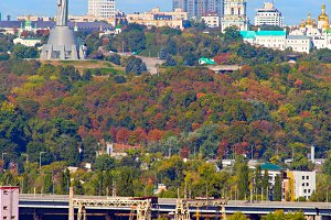 Kyiv skyline, Ukraine