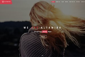 Altamira - One Page HTML Template