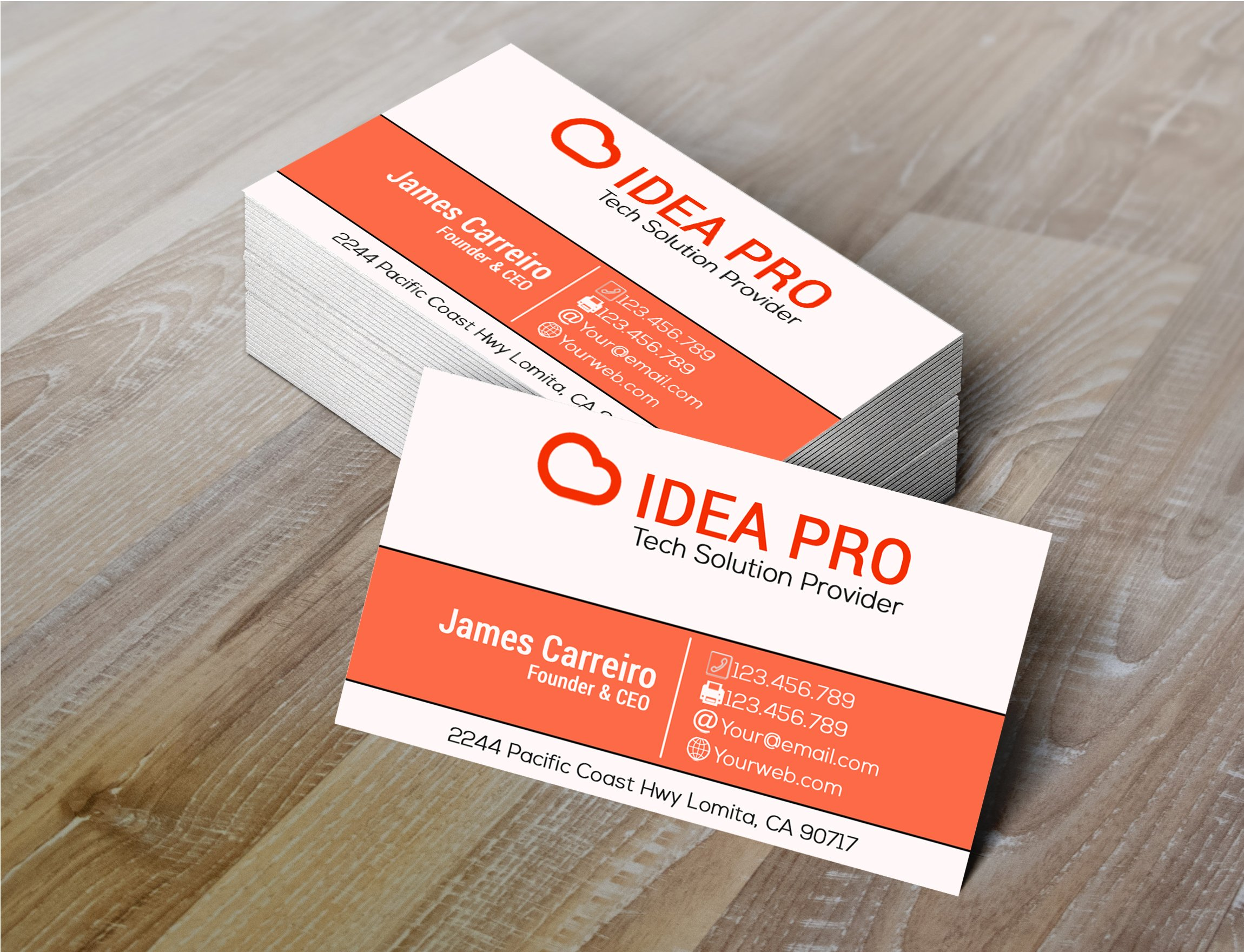 Idea Pro Business Card ~ Business Card Templates ~ Creative Market