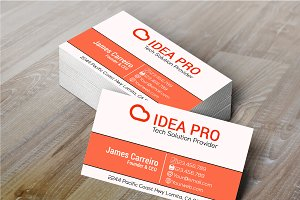 Idea Pro Business Card