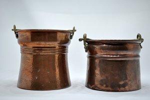 copper cauldrons