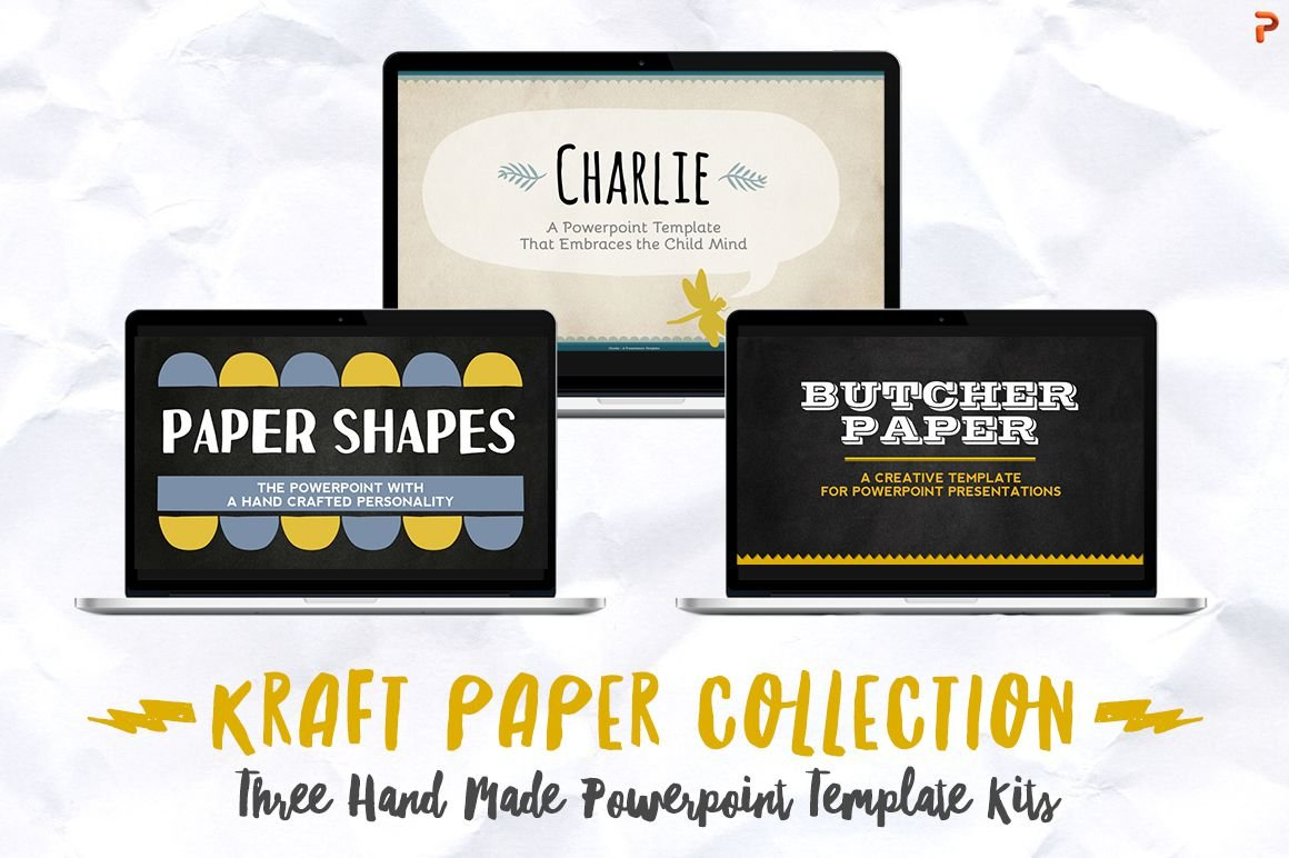 Kraft paper powerpoint collection presentation templates kraft paper powerpoint collection presentation templates creative market toneelgroepblik Choice Image