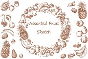 Assorted Fruit Sketch