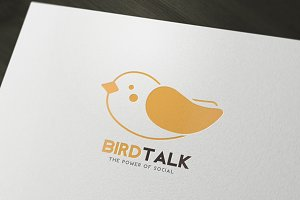 Bird Talk Logo.