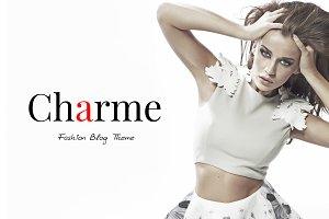 Charme | Fashion Blog Theme