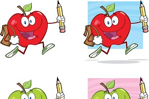 Happy Apples Goes To School