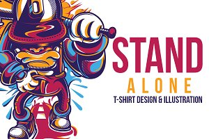 Stand Alone Illustration