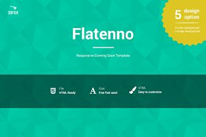 Flatenno Responsive Coming Soon