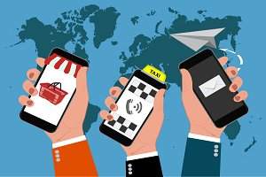 cellphones, online business