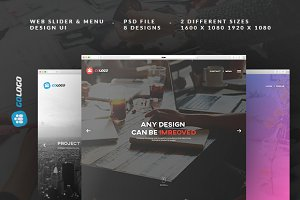 GO Slider & Menu Designs
