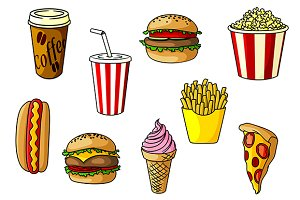 Fast food objects
