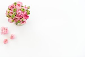 Spring Ranunculus Bouquet