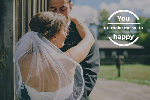 20 Romantic Text Overlays