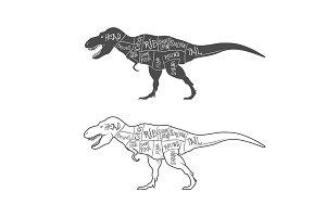 Dinosaurs illustrations