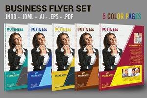 Business Flyer Set 5 Page 5 Colors