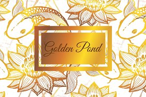 Golden Pond Pattern Set