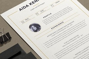 Resume Aida ( 2 pages )