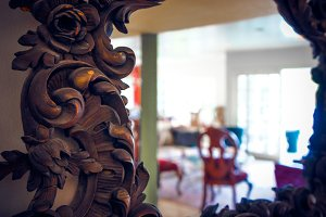 Ornate Mirror Bokeh 1