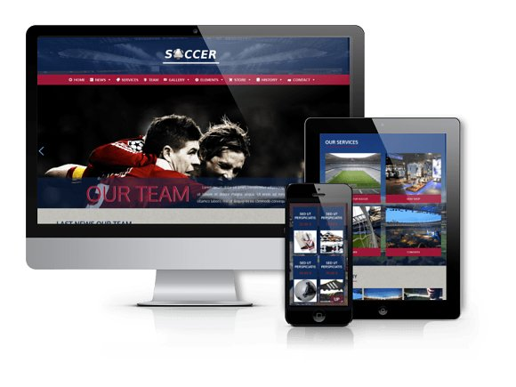 Soccer - Football WordPress Theme