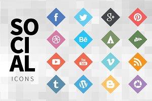 Nice Social Icons 3