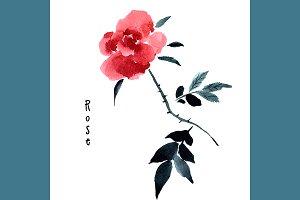 №125 Flower Roses