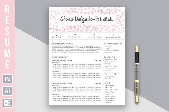 "Resume ""Gloria Delgado-Pritchett"" p"
