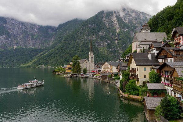 Scenic panoramic picture-postcard v…
