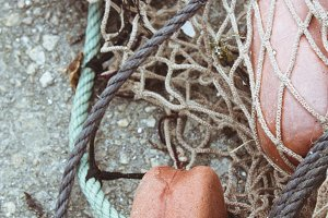nets and buoys