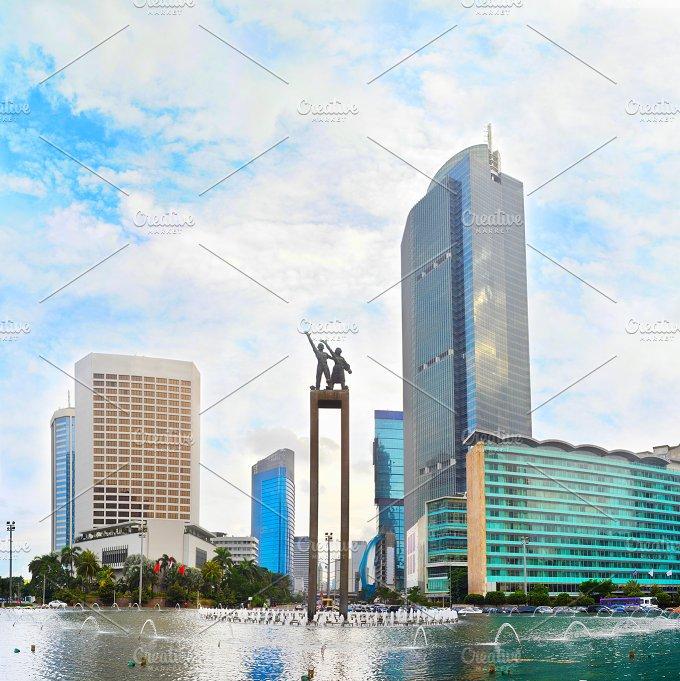 Selamat Datangt. Jakarta, Indonesia - Architecture