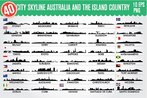 Australia and the Island country+