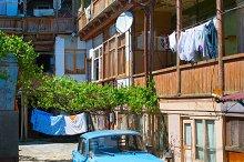 Courtyard, Georgian Republic