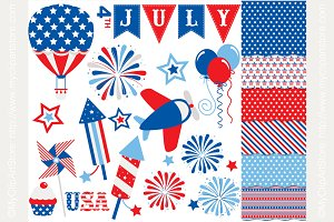 35% OFF 4th of July Design Bundle