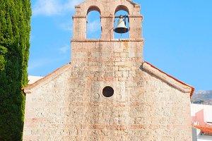 Montenegro church wall
