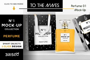 Intro 66%-OFF | Nº1 Mock-Up Perfume