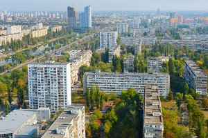 Kiev post-soviet architecture