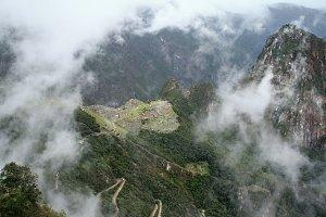 Machupichu in Peru