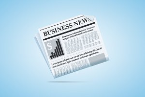 Business News Newspaper