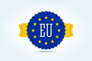 European badge