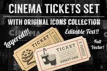 Cinema Tickets Templates