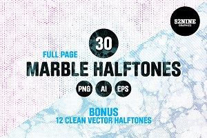 Marble Halftone Pack + Bonus!