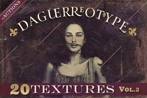 20 Daguerreotype Textures&Actions v2