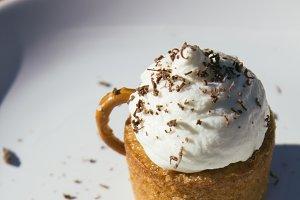 """Cappuccino"" cupcake"
