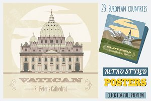 Great Europe travel set 1